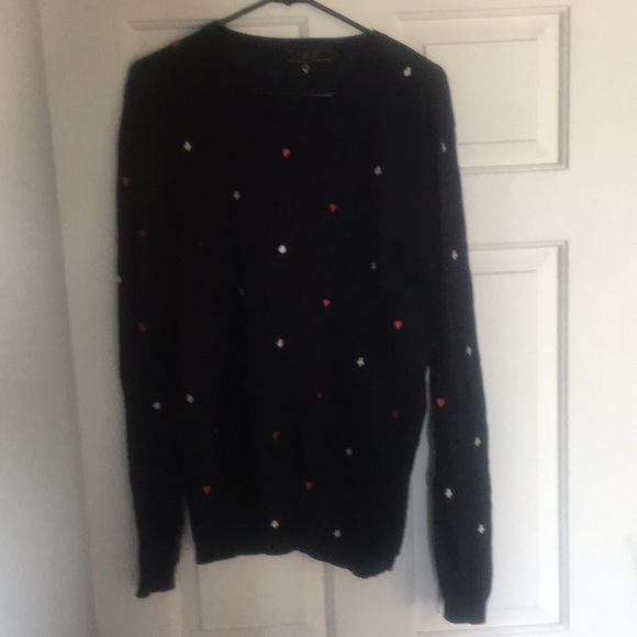 Zara Sweaters King Of Hearts Sweater Poshmark